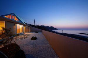 海辺の家の写真